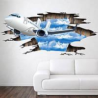 3D Интерьерная наклейка на стену, Blue Sky