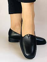 Polann. Жіночі туфлі-лофери на низькому каблуці. Натуральна шкіра. Р. 35, 36,37, 39, 40, фото 4