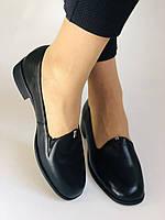 Polann. Жіночі туфлі-лофери на низькому каблуці. Натуральна шкіра. Р. 35, 36,37, 39, 40, фото 3