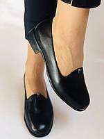 Polann. Жіночі туфлі-лофери на низькому каблуці. Натуральна шкіра. Р. 35, 36,37, 39, 40, фото 5