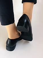 Polann. Жіночі туфлі-лофери на низькому каблуці. Натуральна шкіра. Р. 35, 36,37, 39, 40, фото 8