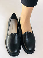 Polann. Жіночі туфлі-лофери на низькому каблуці. Натуральна шкіра. Р. 35, 36,37, 39, 40, фото 9