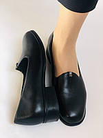 Polann. Жіночі туфлі-лофери на низькому каблуці. Натуральна шкіра. Р. 35, 36,37, 39, 40, фото 10