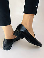 Polann. Жіночі туфлі-лофери на низькому каблуці. Натуральна шкіра. Р. 35, 36,37, 39, 40, фото 7