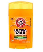 Твердый дезодорант Arm & Hammer Ultramax Antiperspirant & Deodorant Fresh 28гр.