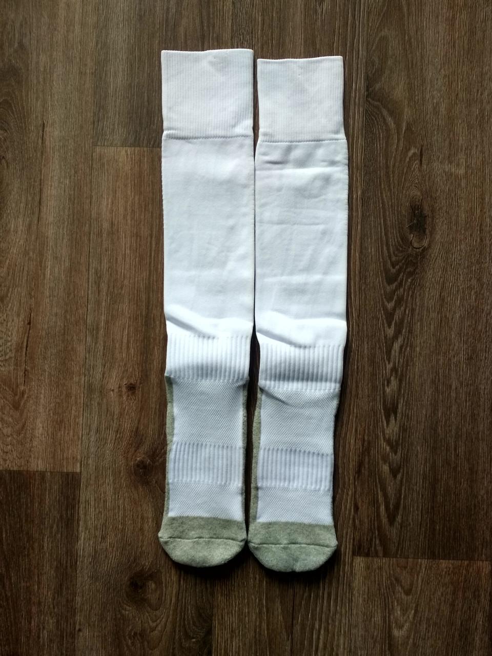 Тренировочные носки динные ZhongXinQiu  белые