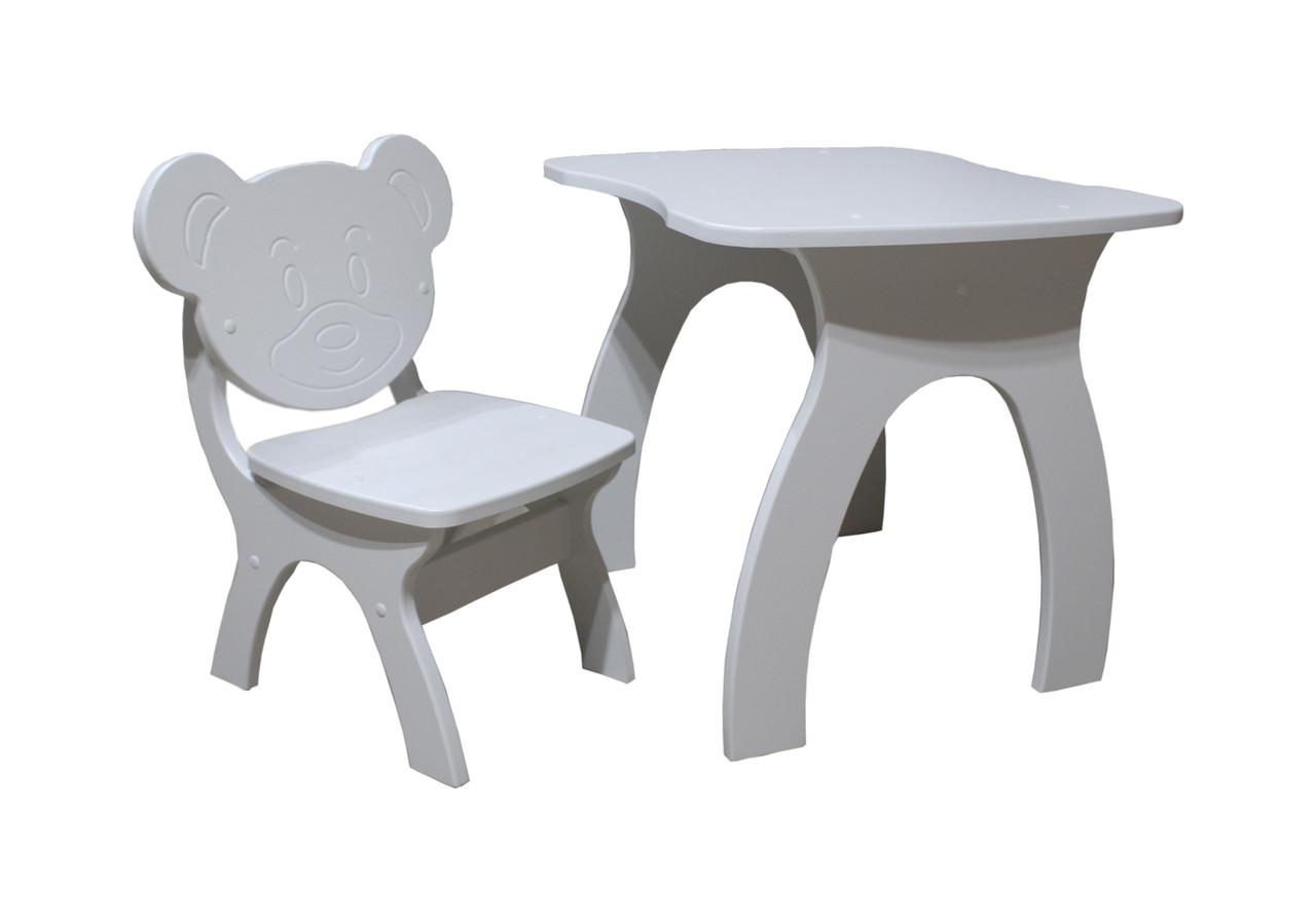 Детский стол+стульчик Jony (Джони). Мишка.