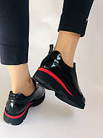 Женские туфли-лоферы. Натуральная лакированная кожа. Турция. Evromoda. Р. 37, фото 7