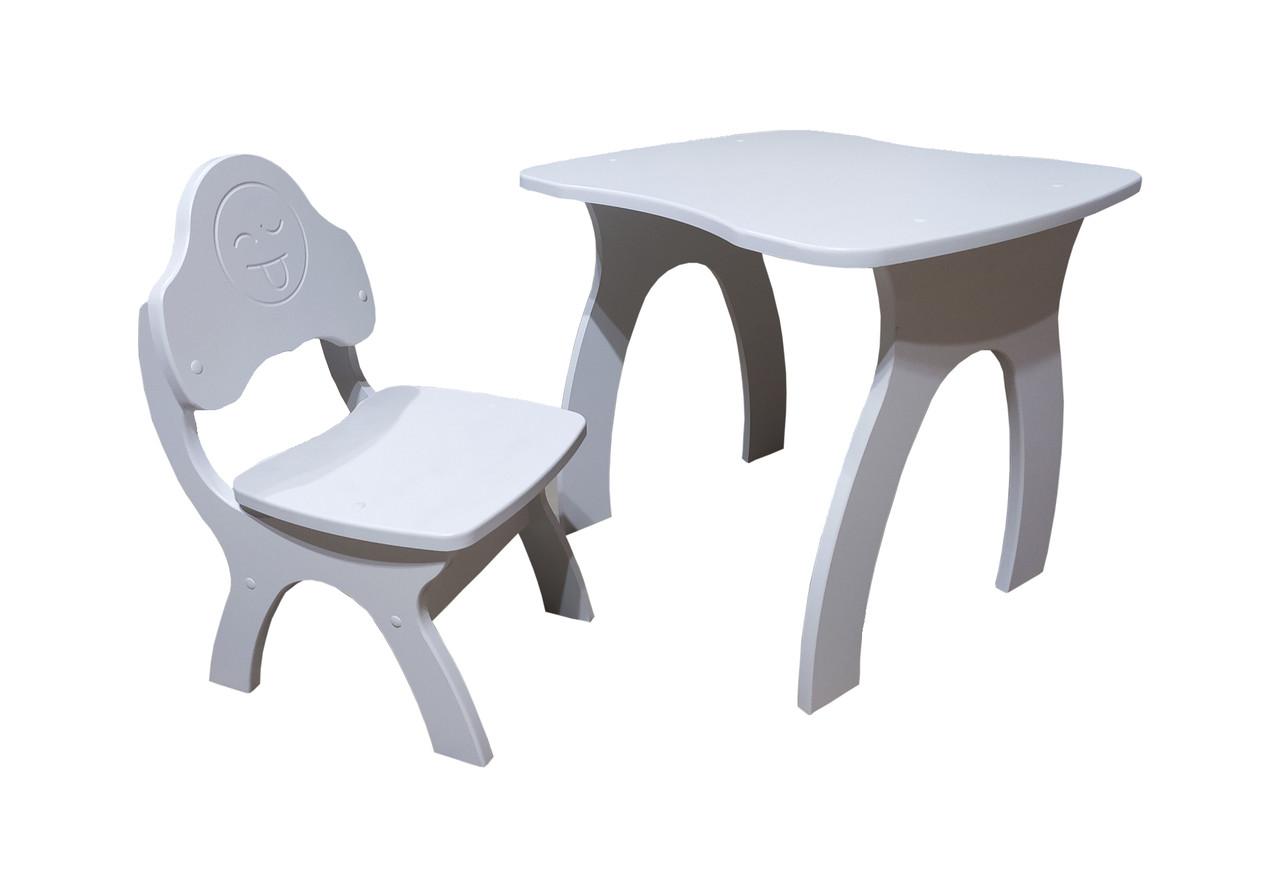Детский стол+стульчик Jony (Джони). Смайл.