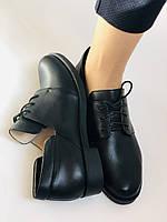 Стильные женские туфли. Оксфорды. Натуральная кожа . Низкий каблук. Molka Р . 35,36,38 39, 40, фото 10