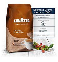 Кофе в зернах Lavazza Crema e Aroma 1кг Коричневая  зерна кофе