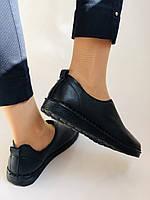 Жіночі осінні туфлі на широку ногу. Натуральна шкіра.Р. 36,38,39,40.Супер комфорт Vellena, фото 3