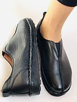 Жіночі осінні туфлі на широку ногу. Натуральна шкіра.Р. 36,38,39,40.Супер комфорт Vellena, фото 7