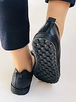 Жіночі осінні туфлі на широку ногу. Натуральна шкіра.Р. 36,38,39,40.Супер комфорт Vellena, фото 8