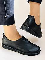 Жіночі осінні туфлі на широку ногу. Натуральна шкіра.Р. 36,38,39,40.Супер комфорт Vellena, фото 4