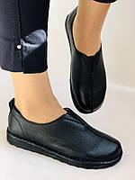 Жіночі осінні туфлі на широку ногу. Натуральна шкіра.Р. 36,38,39,40.Супер комфорт Vellena, фото 2