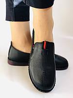 Женские туфли на широкую ногу. Натуральная кожа. Суперкомфорт Р.37,39,40,41,42 Vellena, фото 9