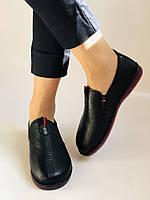 Жіночі туфлі на широку ногу. Натуральна шкіра. Суперкомфорт Р. 37,39,40,41,42 Vellena, фото 4