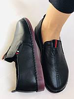 Женские туфли на широкую ногу. Натуральная кожа. Суперкомфорт Р.37,39,40,41,42 Vellena, фото 7