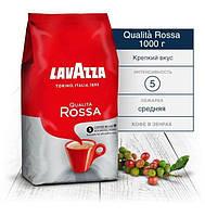 Кофе в зернах Lavazza Qualita Rossa 1кг Лавацца  Росса зерна кофе