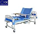 Медицинская кровать с туалетом E30. Функциональная кровать. Кровать для реабилитации. Для инвалида., фото 3