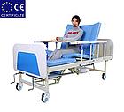 Медицинская кровать с туалетом E30. Функциональная кровать. Кровать для реабилитации. Для инвалида., фото 5