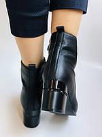 Женские демисезон. ботинки на среднем каблуке. Натуральная кожа.Высокое качество. Р.  34,35,37,38 Lottini, фото 6