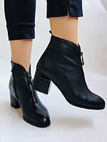 Женские демисезон. ботинки на среднем каблуке. Натуральная кожа.Высокое качество. Р.  34,35,37,38 Lottini, фото 5