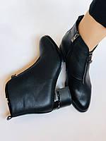 Женские демисезон. ботинки на среднем каблуке. Натуральная кожа.Высокое качество. Р.  34,35,37,38 Lottini, фото 9