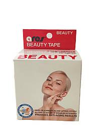 Кінезіологичний тейп для обличчя Ares Beauty Tape 5м, білий