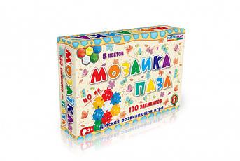 Мозаика-пазл Ø40мм №5 (130дет.) 1-146