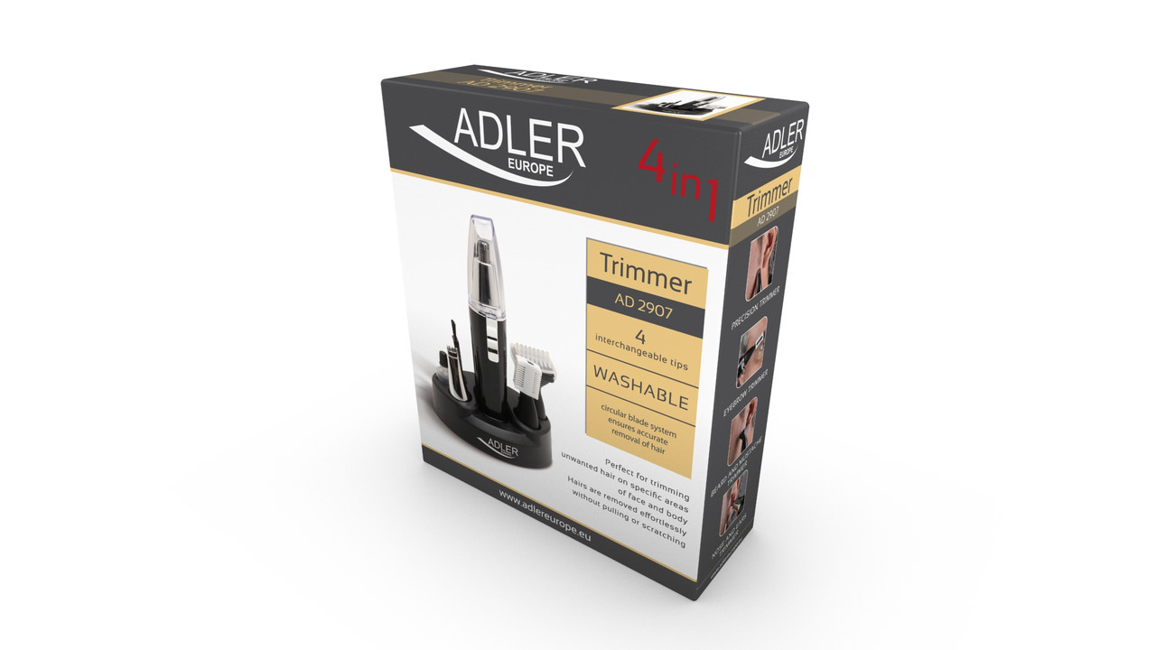 Триммер бритва 4 в 1 Adler AD 2907
