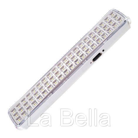 Светодиодный аккумуляторный (аварийный) светильник Feron EL119 (60 LED) AC\DC