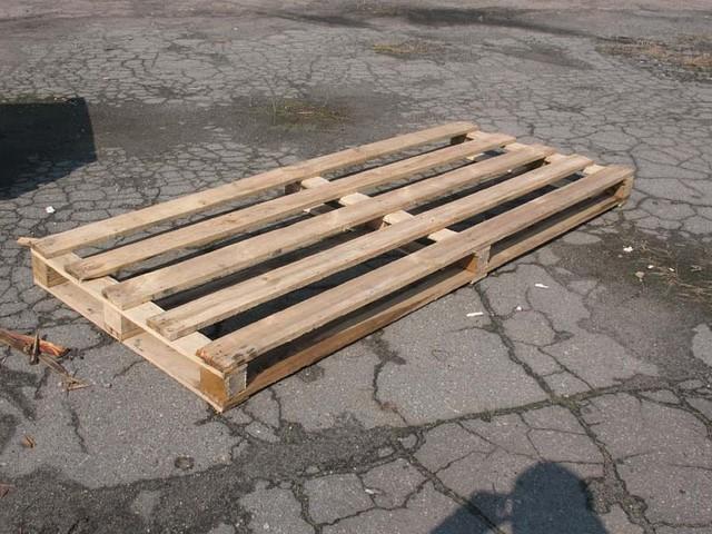 Поддон деревянный б/у 2400х1000 - ЧП «Паритет-СП» в Днепре