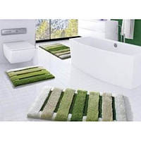 Коврик для ванной Confetti Selinus 60*100 зеленый