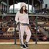 Теплий в'язаний батальний спортивний костюм на блискавці 44 46 48 50 52 54 56 58 розмір, фото 9