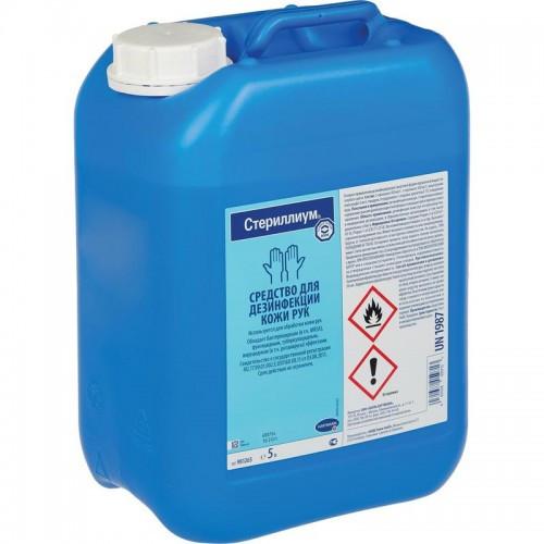 Стериллиум спиртовой классик пур Sterillium classic pur дезинфектант для обработки рук 5000 мл.