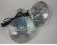 Захисний плафон (брудер) для інфрачервоної лампи, з регуляцією