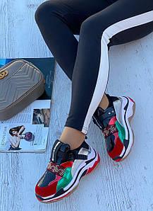 Кросівки жіночі 6 пар в ящику чорного кольору 36-40