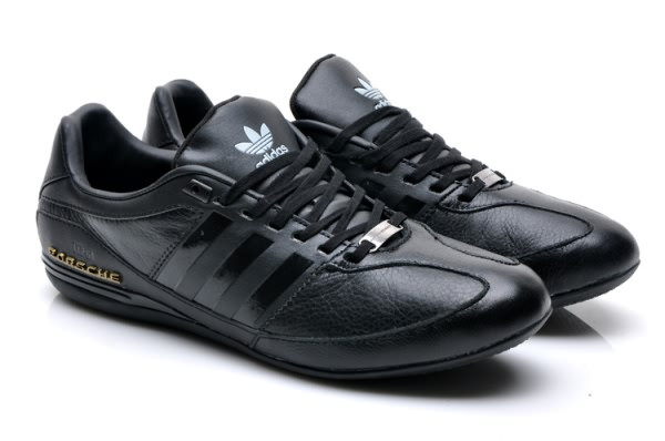 Кроссовки Adidas Porsche Design Black Gold