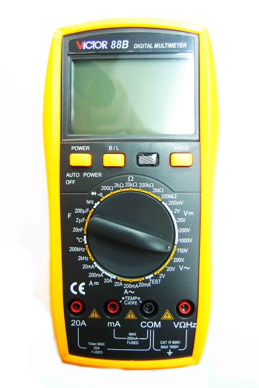 Цифровой профессиональный мультиметр Viktor 88B тестер