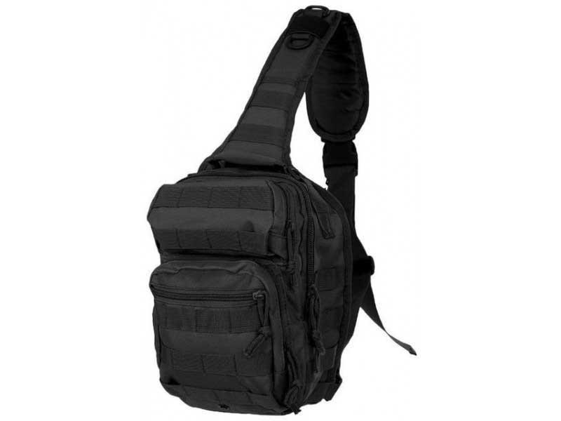 Рюкзак Mil-Tec однолямочный OD ONE STRAP ASSAULT PACK SMALL Код: 14059102 цвет черний