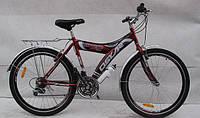 Велосипед горный OSKAR 26MY-05 SHIMANO Красный.