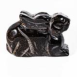 Статуэтка Зайчик из тигрового глаза, 665ФГТ, фото 2