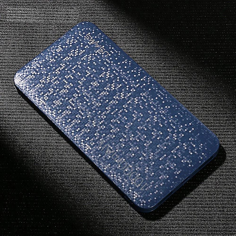 Внешний аккумулятор Power bank USAMS Mosaic 10000 mah Blue
