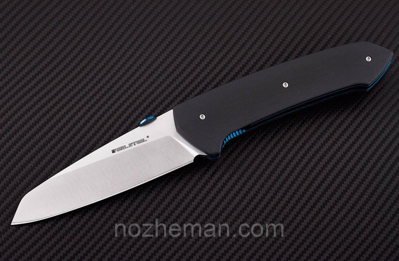 Нож складной Такин 2, из нержавеющей стали 14С28N и бладает высокой прочностью