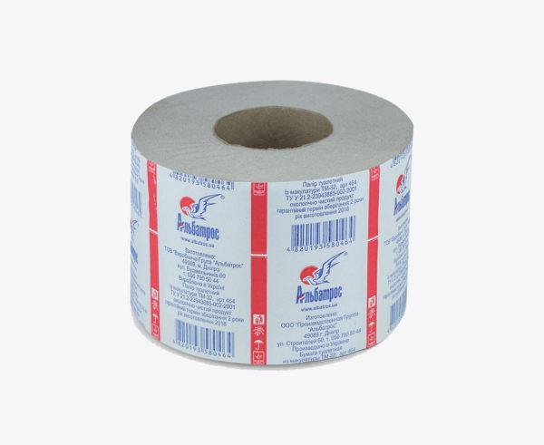 """Туалетная бумага в рулонах """"Джамбо"""" на гильзе d = 60, без тиснения"""