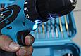 Аккумуляторный шуруповерт makita DF330DWE 12V 2A/h Li-Ion с набором инструментов Шуруповерт Макита df330dwe, фото 9