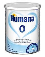 Сухая молочная смесь Humana 0 с LC PUFA, пребиотиками и нуклеотидами, 400 г