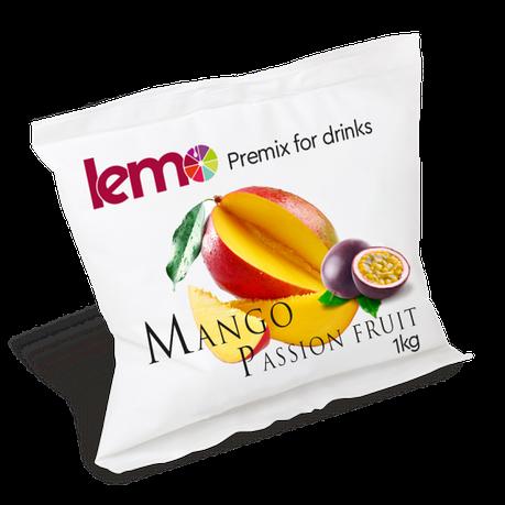 Фруктовое пюре Манго-Маракуйя с косточкой  LEMO  1кг, фото 2